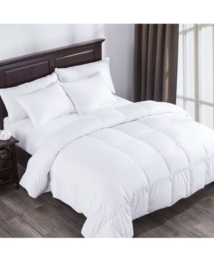 lightweight Summer Goose Down Comforter Duvet with Cotton Cover Retail 166 99