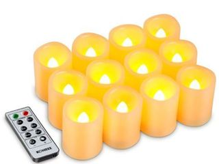 6 Kohree Flameless Wax Candles lED