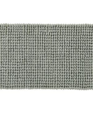 24  x 40  Rectangle Sage Better Trends Noodle Collection Polyester Chenille Handwoven Tufted Bath Mat Rug