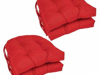 Blazing Needles 16 inch Dining Chair Cushions  Set of 4