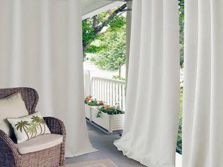 Elrene Home Fashions Connor Solid Room Darkening Grommet Single Curtain Panel