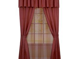 Achim Claire 6 Piece Curtain Set