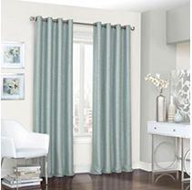 95 Inches   Spa Eclipse Presto Room Darkening Grommet Window Curtain Panel
