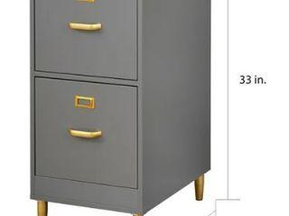 Carson Carrington Erfjord 2 drawer File Cabinet Retail 145 99