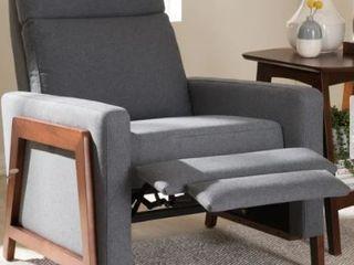 Mid century Fabric Recliner by Baxton Studio Retail 455 49