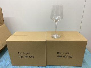 Brand New Wine Glasses x 12