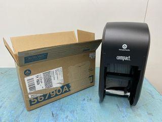 2 Roll Vertical Tissue Dispenser