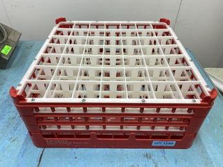 49 Compartment Champagne Glass Dishwasher Rack