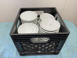 Dozen 5 5  Porcelain Saucer