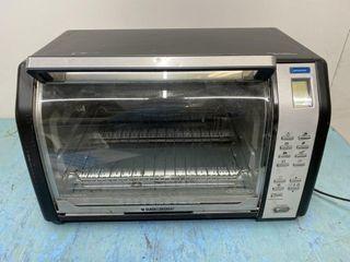 Black   Decker Counter Top Convection Oven