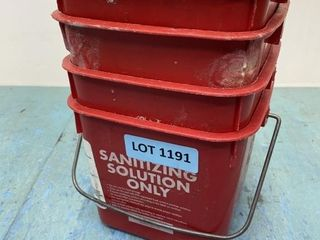 Ecolab Sanitizer Bucket