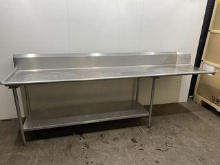 All S S Welded Dishwasher Table