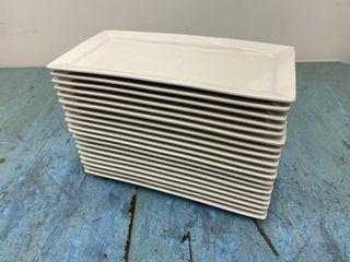 Cameo China 12  x 6  Rectangular Serving Platter