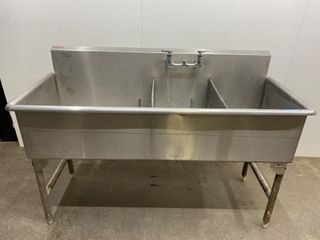 3 Compartment Sink   63  x 26