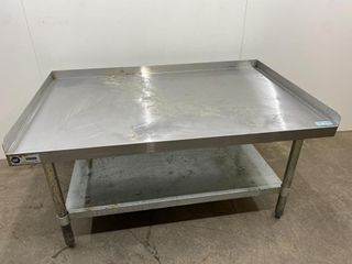 S S Equipment Stand W  Galv Undershelf   48  x