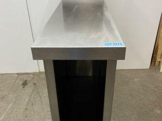 Custom S S Spacer Cabinet   12  x 36  W  10  B S