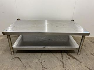 HD All S S Welded Equipment Stand   48  x 26  x