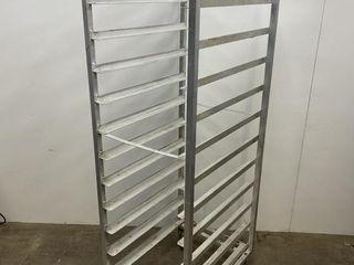 HD 12 Slide Full Size Aluminium Bakers Rack