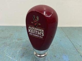 Alexander Keiths Beer Tap Handle