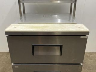 True TFP 32 32  Mega Top Prep Table With Drawers
