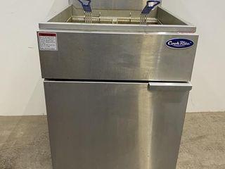CookRite 170 000 BTU ATFS 75 75lb Gas Fryer