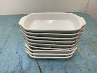 8 5  x 4  Single Serve lasagne Bowls
