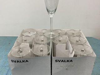 Svalka Champagne Flutes