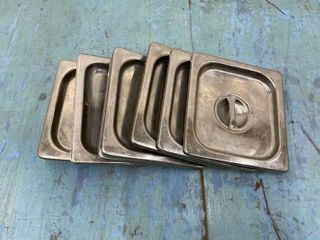S S Steam Pan Cover 1 6 Size