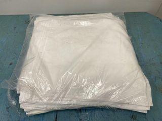 18  x 18  White Cloth Napkins   Approx 100