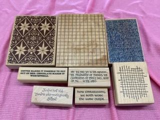RUBBER STAMPS DESIGNS AND MESSAGES