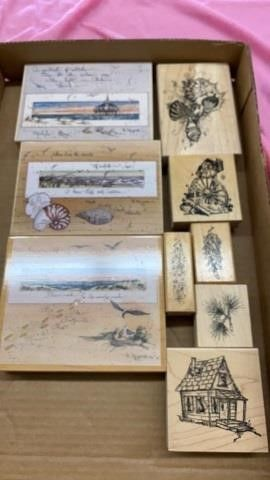 NATURE RIVER STAMPS
