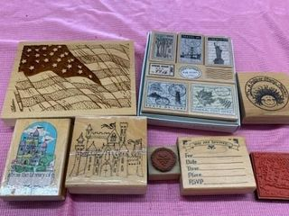 VARITY OF RUBBER STAMPS
