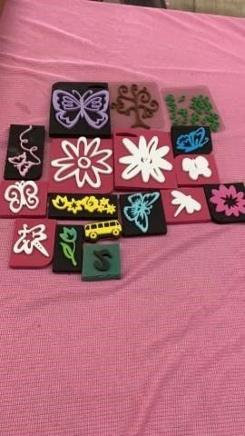 FOAMY ASSORTED RUBBER STAMPS