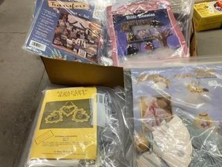 TRANSFER KITS AND ANIMAl  ANGEl AND HEART KITS