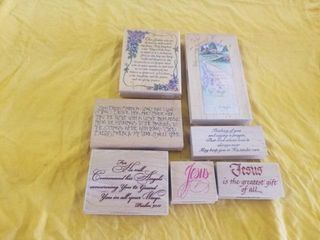 lORDS PRAYER  AND OTHER INSPIRATIONAl STAMPS
