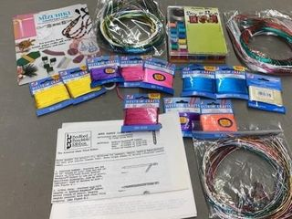 MIZUHIKI CORDS ARTISTIC WIRES AND WESTRIM CRAFT