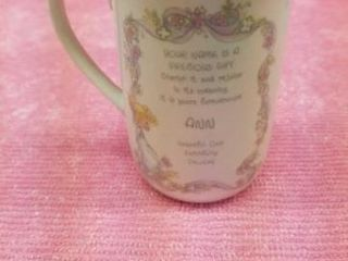 PRECIOUS MOMENTS   ANN  COFFEE CUP