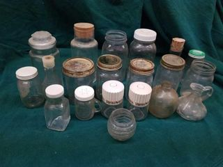 MISCEllANOUS JARS AND BOTTlES