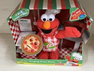 NEW SESAME SINGING PIZZA ElMO