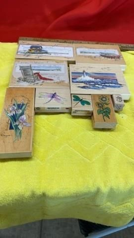 RUBBER STAMPS OUTDOOR VARIETY
