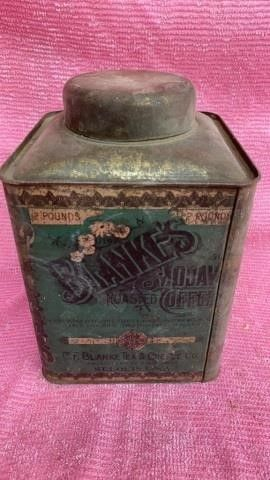 BlANKES VINTAGE COFFEE TIN