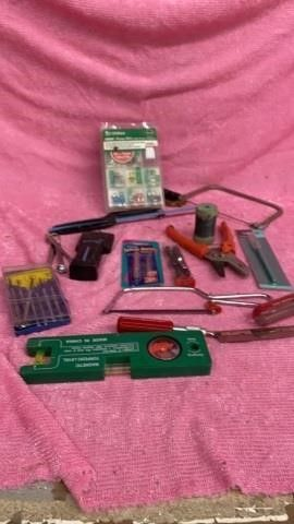 Box of VARIOUS TOOlS AND FUSES