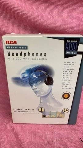 RCA WIRElESS HEADPHONES NEW