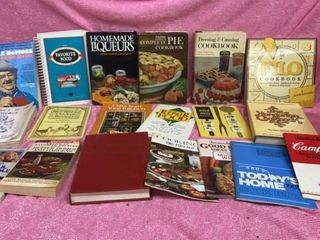 VARIETY OF COOKBOOKS