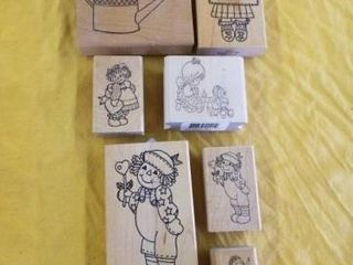 CHIlDS RUBBER STAMPS