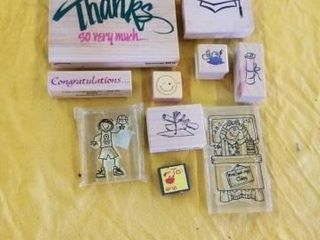 GRADUATION RUBBER STAMPS