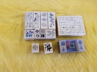 ASIAN RUBBER STAMPS
