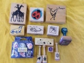 ANIMAl AND MISCEllANOUS RUBBER STAMPS