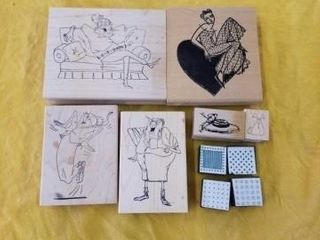lADIES   RUBBER STAMPS