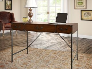 Kathy Ireland Home Iron Works Writing Desk